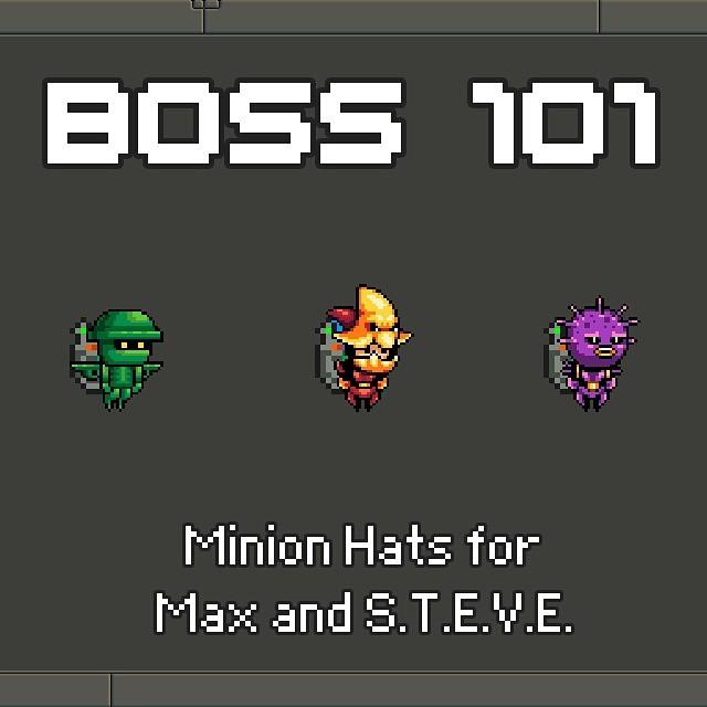 Boss 101 Game Art Wear hats of defeated enemies! boss101hellip